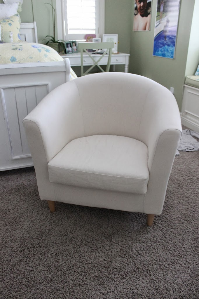 Pair Of Barrel Chairs Slipcovers By Shelley